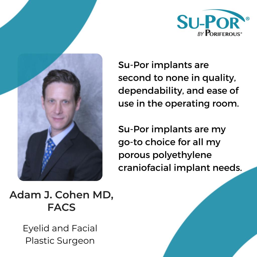 Adam Cohen MD quote about Su-Por