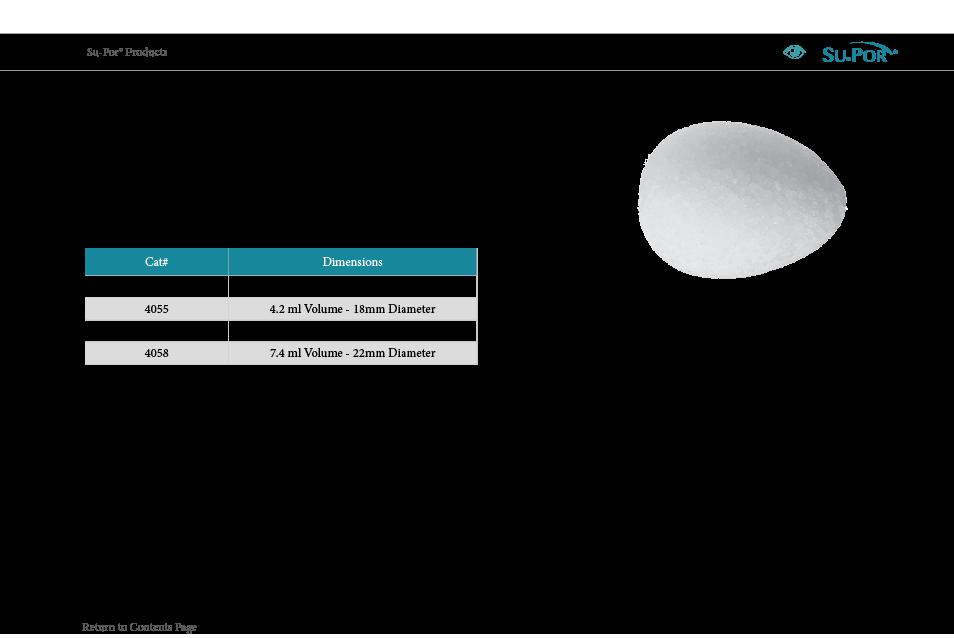 catalog conical orbital implant (COI)