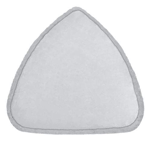 orbital floor wit non-porous membrane