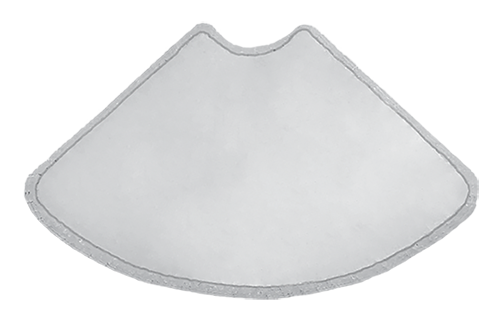 fan plate w template and membrane