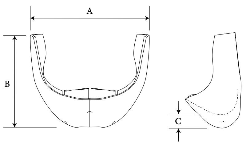 button chin diagram