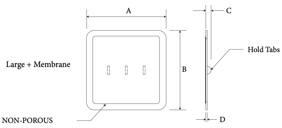 Sellar Floor large + membrane