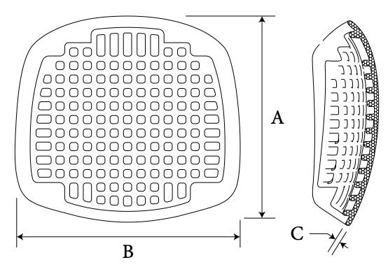 Cranial Flex Grid diagram